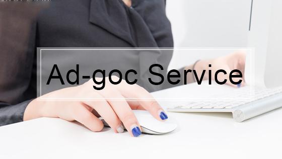 Ad-hoc Advisory Service