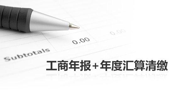 年检套餐包(工商年报+年度企业所得税汇算清缴)