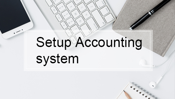 WFOE Initial setup accounting system