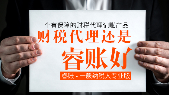 睿账-普通纳税人专业版