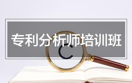 专利分析师培训班(初级班)