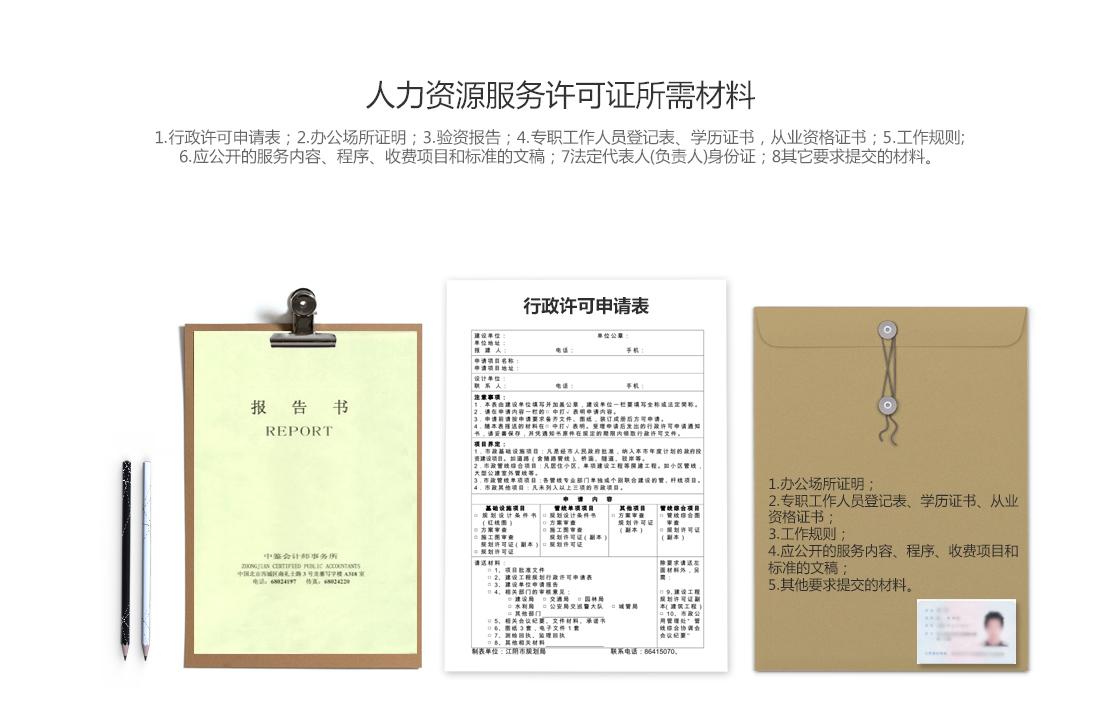 人力资源服务许可证,人力资源服务许可证办理